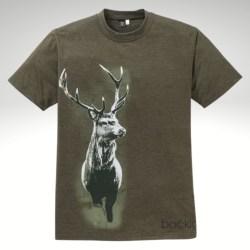 T-Shirt Hirschmotiv