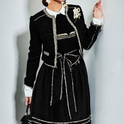 Trachtenjacke La veste noir by Victoria Swarovski