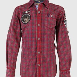Kinderhemd rot
