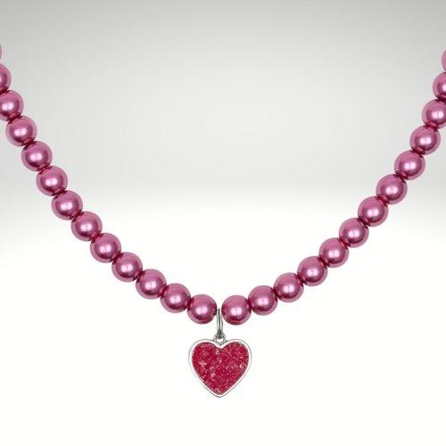 Halskette pink