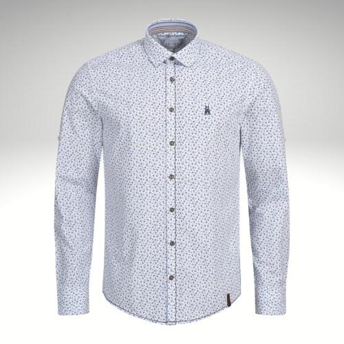 Trachtenhemd Hirschprint Marjo